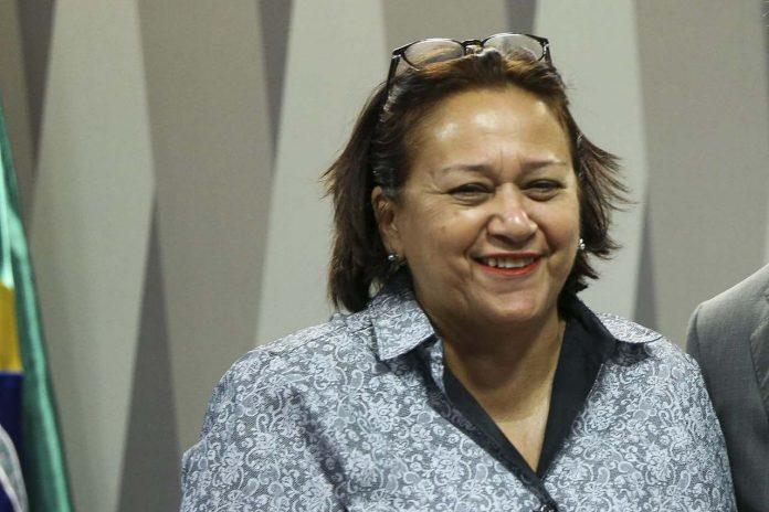 Fátima Bezerra disse que tem a humildade de quem sabe que não se pode governar sozinha. Marcelo Camargo/Agência Brasil