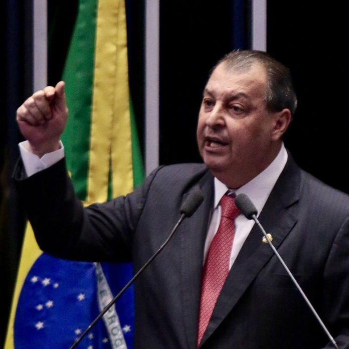 Senador Omar Aziz coordenador da bancada federal do Amazonas em Brasília
