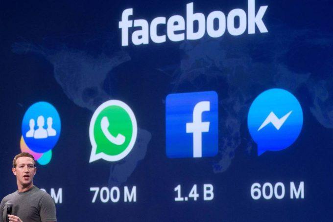 Presidente executivo do Facebook Mark Zuckerberg foto de Josh Edelson